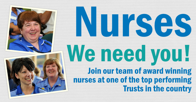 Nurses urged to join top performing Trust