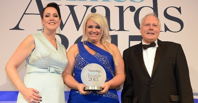 Nurse Leader of the Year award