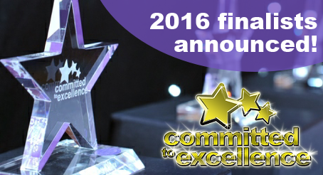 Committed to Excellence finalists 2016