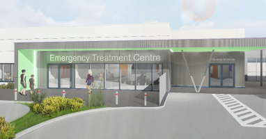 Work starts on Emergency Treatment Centre