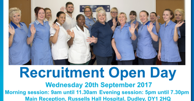Calling all nurses, ODPs and AHPs – Dudley needs you!