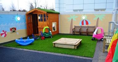 Secret garden officially declared open