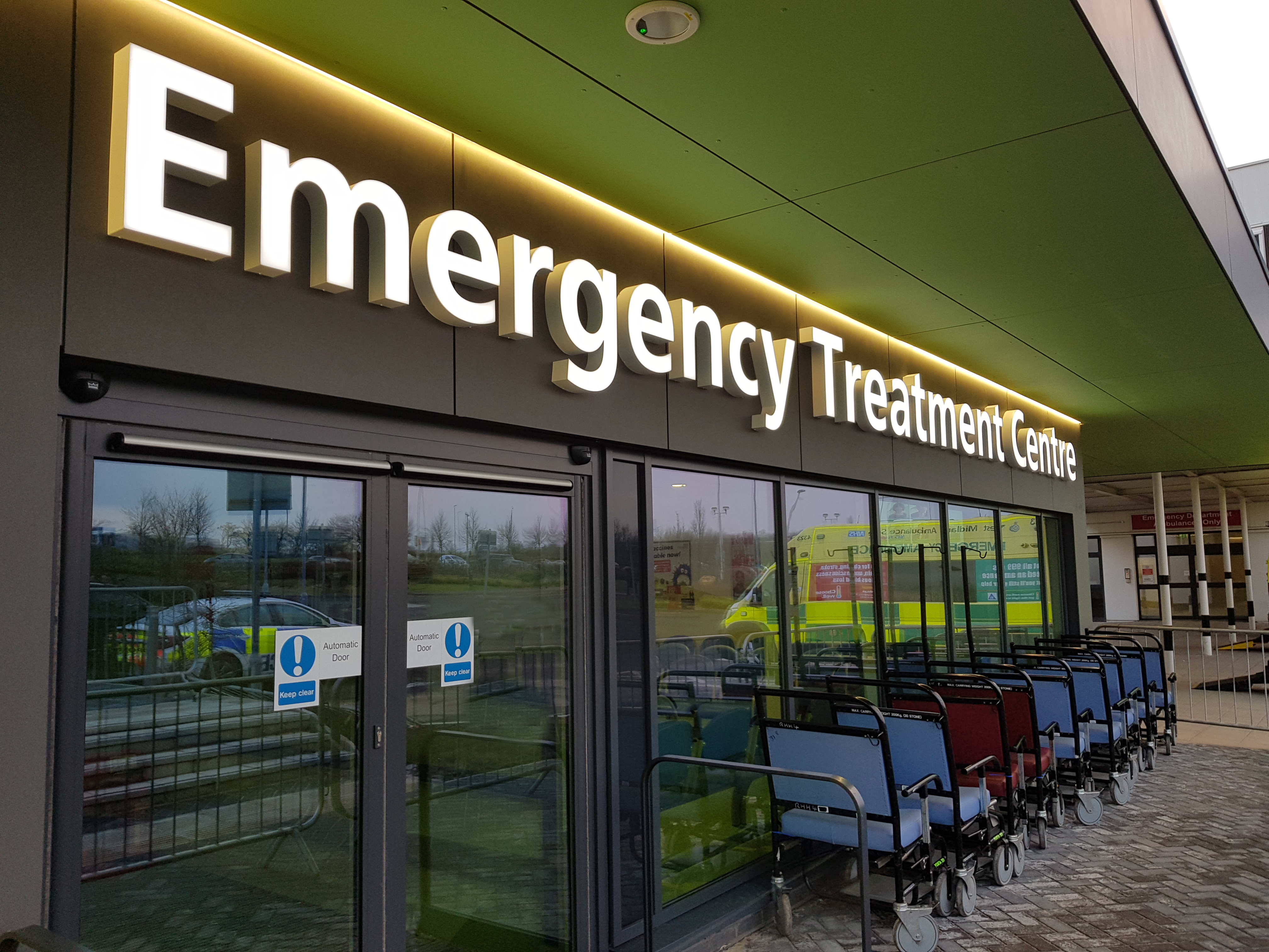 New Emergency Treatment Centre is open