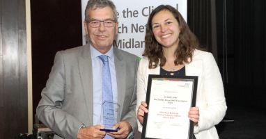 Trust's research wins awards