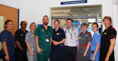 Award winning cardiac assessment unit at Russells Hall Hospital