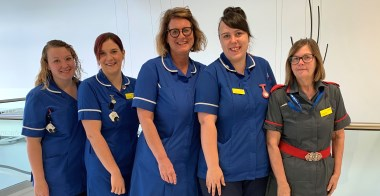 Nurses upskill to care for patients at home