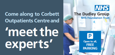 'Meet the Experts' event at Corbett Outpatient Centre!