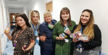 Hospital launches food bank appeal