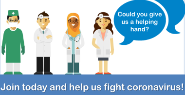 We are recruiting – vaccination team