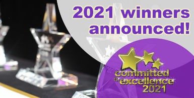 Committed to Excellence 2021 – The Winners!