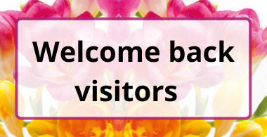 Welcome back visitors