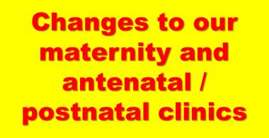 Maternity updates