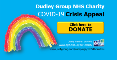 Please donate to our COVID-19 charity appeal