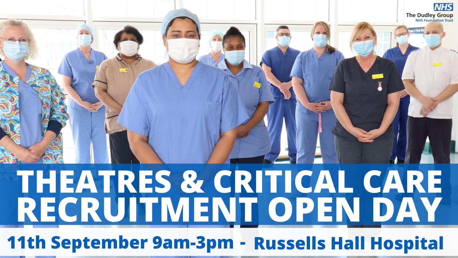 Theatre & Critical Care recruitment